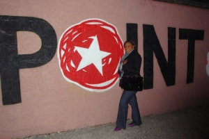 Reporter @ Large, NeishaAnne G. at The Point CDC, Hunts Point, The Bronx, NY