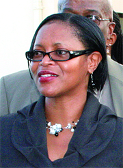 Alicia Hospedales, Trinidad Minister of State in the Social Development Ministry